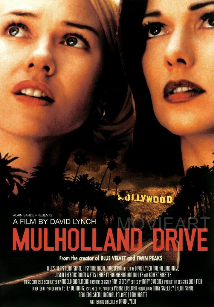 mulholland drive movie poster 电影海报