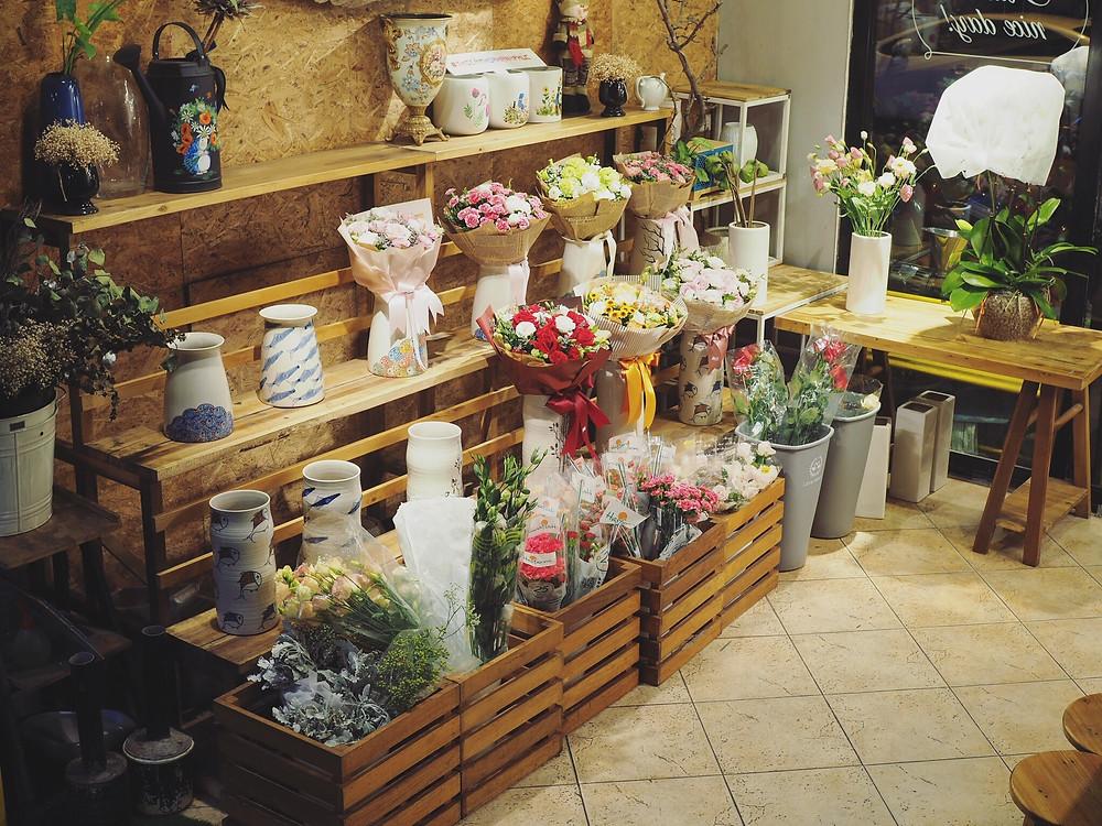 Floral & Book Cafe 河内咖啡馆