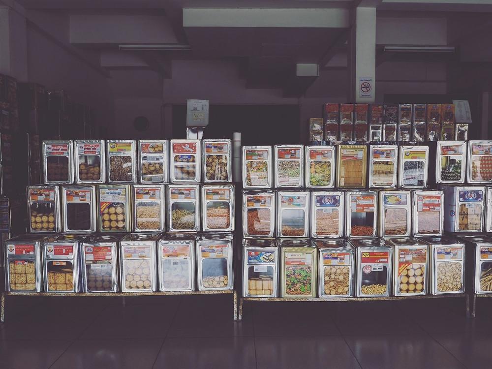 清迈的零食店