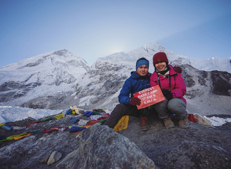 @ Everest Base Camp Trek 珠穆朗玛峰大本营:最肮脏的两个星期