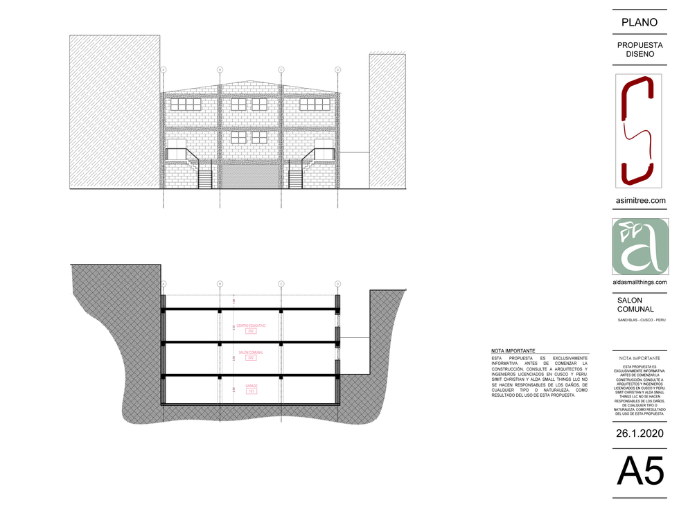 SECTION & ELEVATION