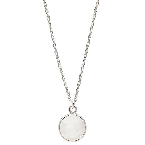 Charmed by Intuition Silver Necklace