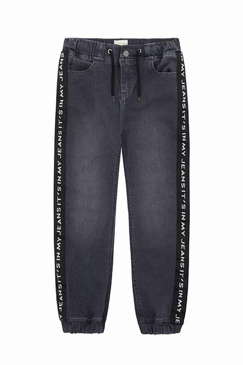 It's In My Jeans - Black Denim Joggers