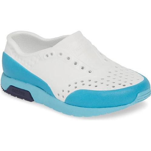 Native - Lennox Block Blue/White Child Shoes