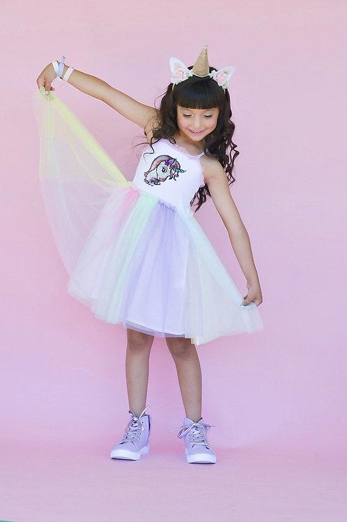 Chewy Kids - Unicorn Sequin Dress