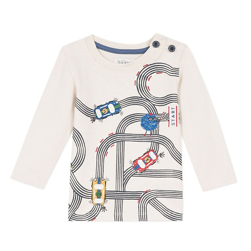 Jean Bourget - Long Sleeve Car Shirt