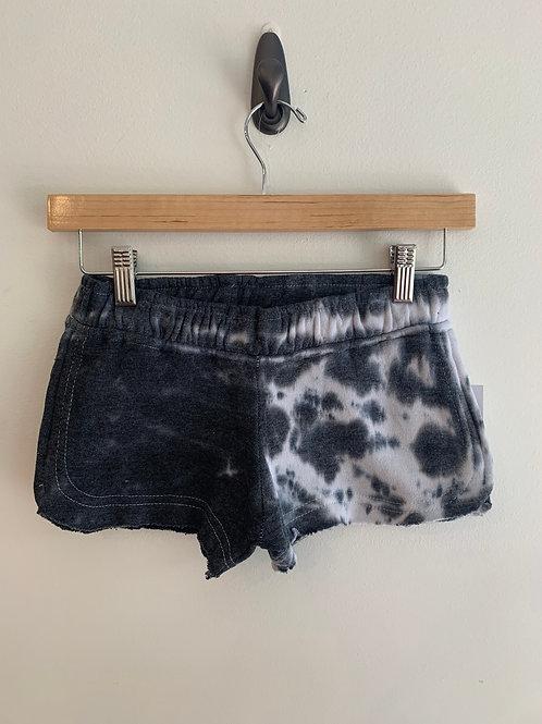 Vintage Havana  - Black and White Tie Dye Shorts