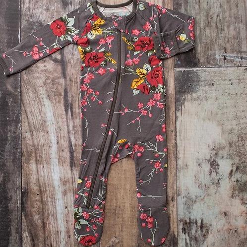 Bestaroo - Grey Cherry Blossom Footie