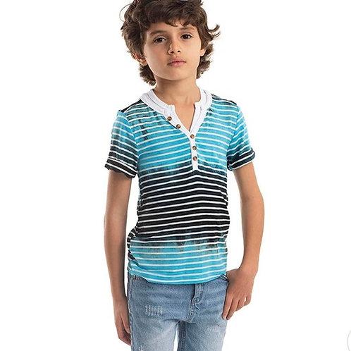 Appaman - Ombré Blue Striped Henley