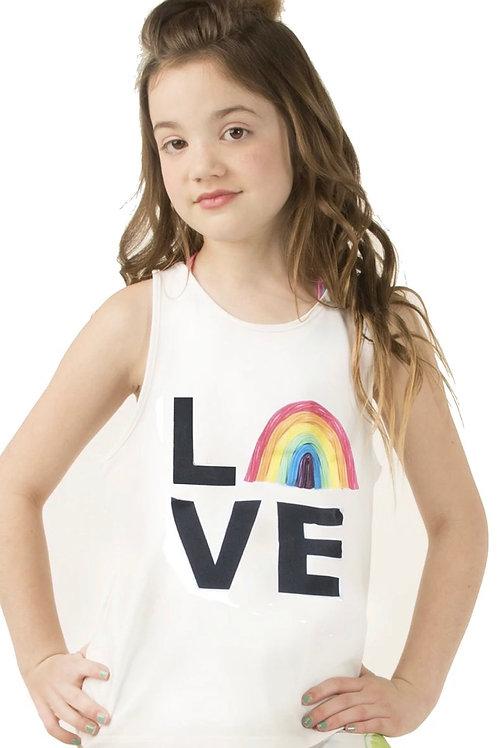 Becandylicious - Love Rainbow Tank