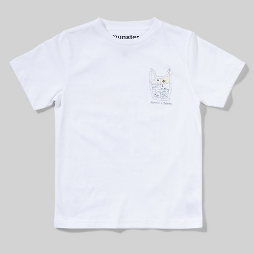 Munster - White Dawn To Dusk Tee