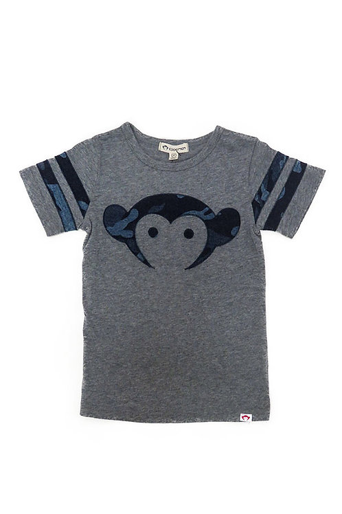Appaman - Blue Camo Monkey Tee