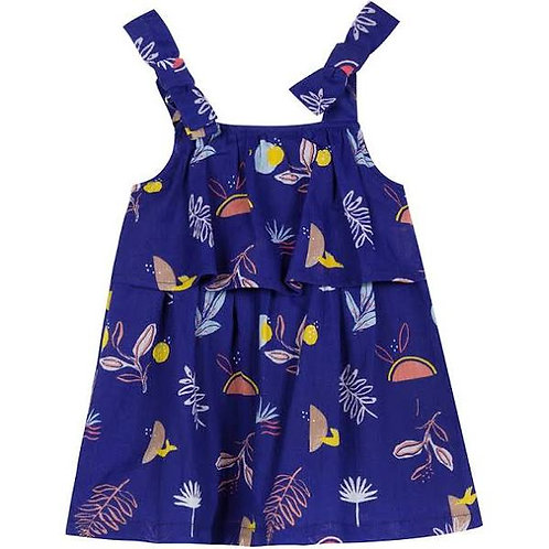 Jean Bourget - Royal Blue Tie Baby Dress