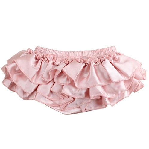 Ju Danzy - Blush Satin Diaper Cover