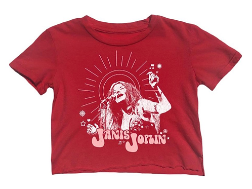Rowdy Sprout - Not So Crop Janis Joplin Tee