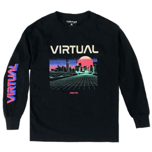 Port 213 - Virtual Long Sleeve Shirt