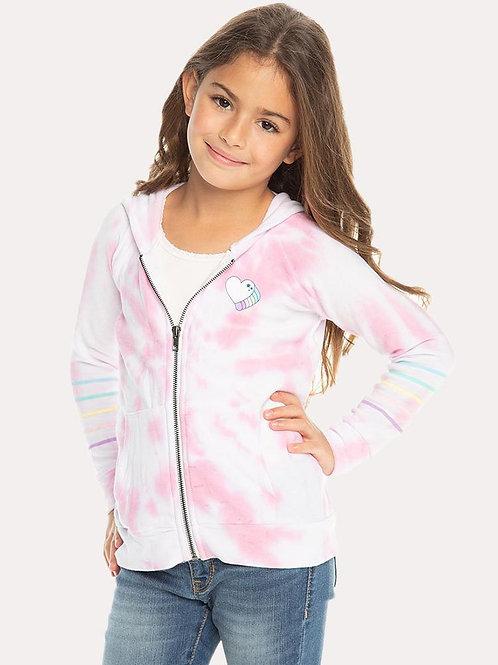Chaser - Pink Zip Up Hoodie