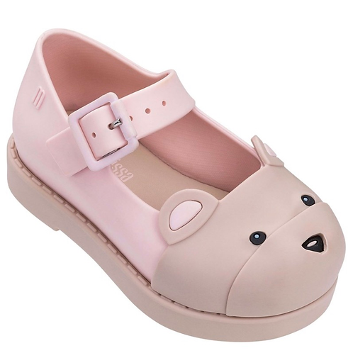 Mini Melissa - Maggie Bear Beige Shoes