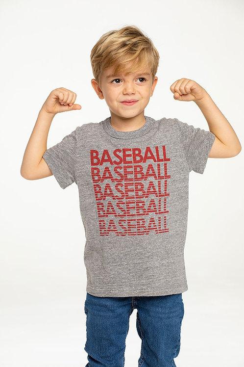 Chaser Baseball Crewneck Tee