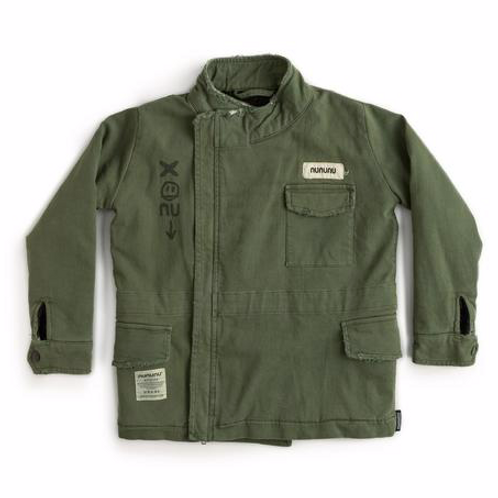 Nununu - Heavy Lined Military Jacket