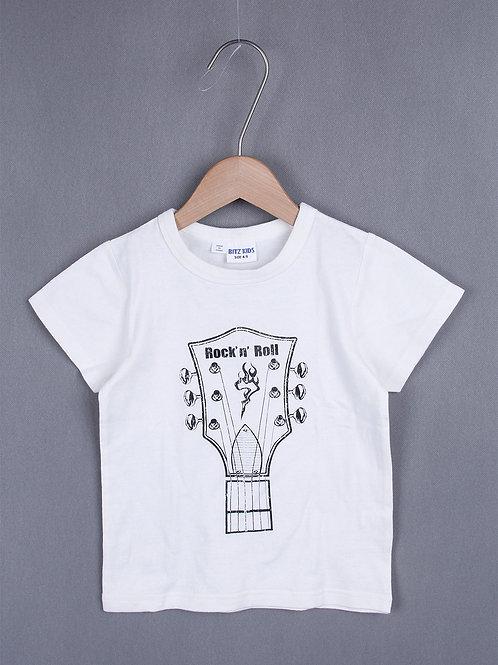 Bitz Kids - Rock N Roll Guitar Shirt