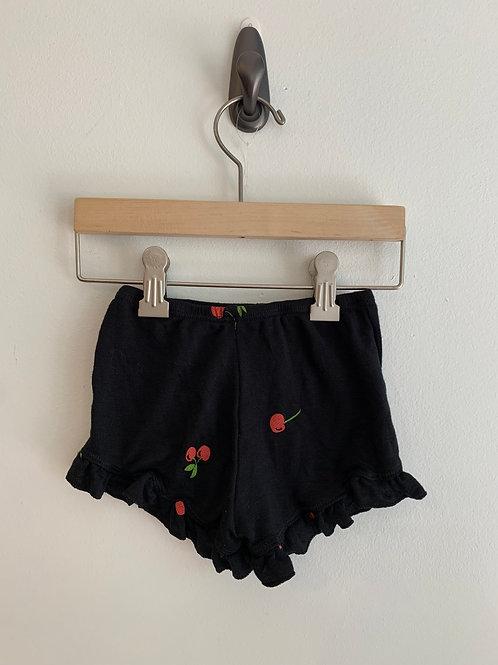 T 2 Love - Cherry Ruffle Shorts