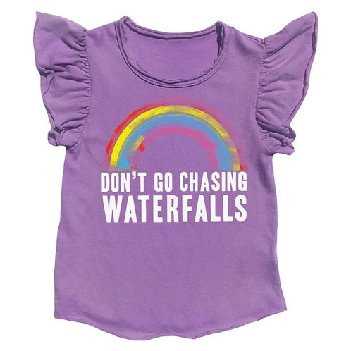 Rowdy Sprout - Chasing Waterfalls Flutter Tee