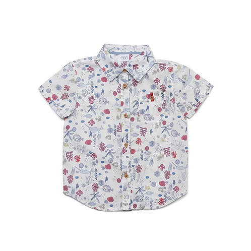 Egg - Sea Life Button Down