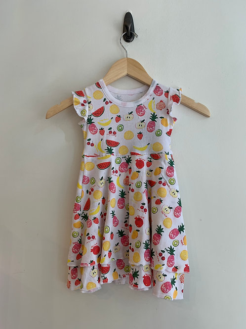Chaser - Summer Fruit Tiered Dress