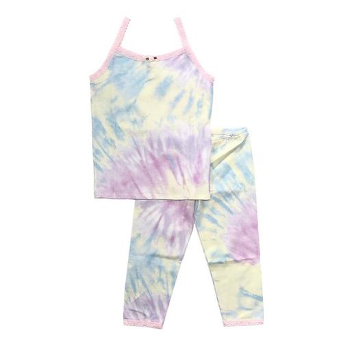 Esme - Toddler Tie Dye Camisole & Cropped Legging Set