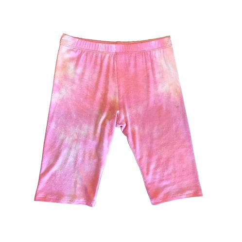Bailey Blue - Tie Dye Bike Shorts