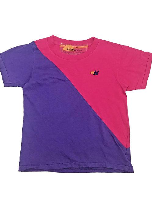 Aviator Nation - Purple Pink Glider Tee