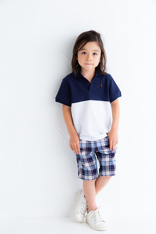 Bitz Kids - Plaid Blue Shorts