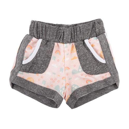 Mikki Miette - Rainbow Print Shorts