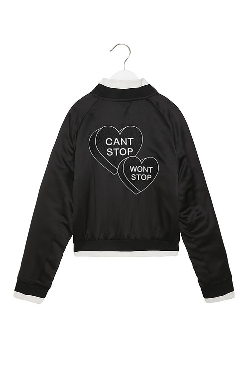 Spiritual Gangster - Cant Stop Wont Stop Bomber Jacket