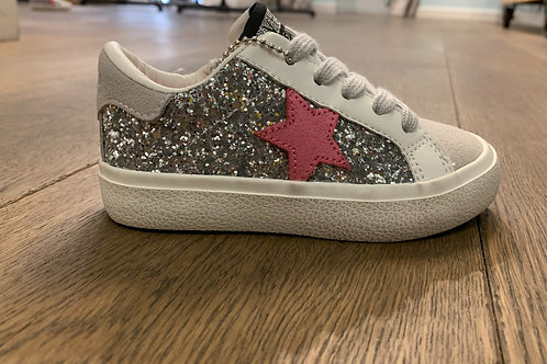 Vintage Havana - Glitter and Pink Star Shoes