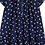 Thumbnail: Jean Bourget - Navy Floral Dress