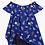 Thumbnail: Jean Bourget - Royal Blue Tie Dress