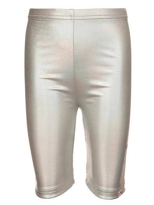 Appaman - Silver Metallic Biker Shorts