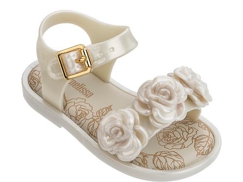 Mini Melissa - Pearled Mar Sandal