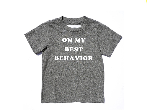 Sol Angeles - Best Behavior Tee