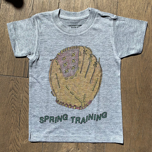 Orange Heat - Glove Spring Training Tee