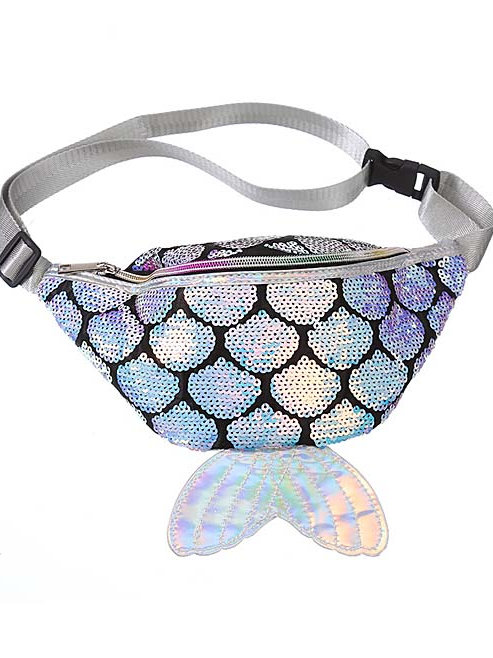 Zomigems - Silver Mermaid Fanny Pack