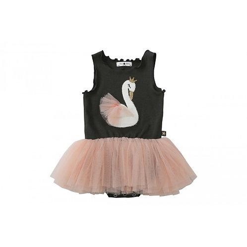 Petite Hailey - Swan Tutu Onesie