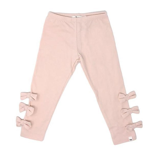 Oh Baby! - Pink Bow Leggings