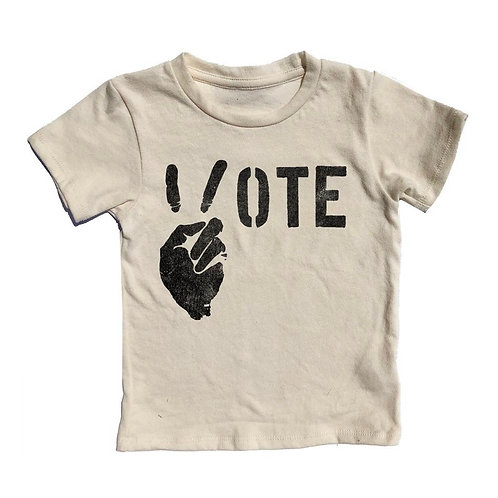 Rowdy Sprout - Vote Peace Tee