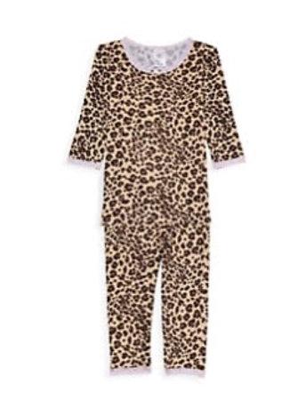 Esme - 2pc Leopard Shimmy Light Pink