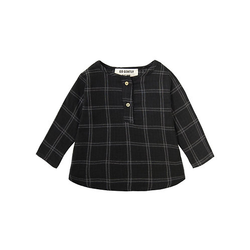 Go Gently Nation - Plaid Top