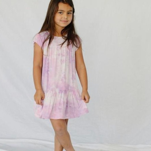 Little Moon Society - Bloomimg Lilac Twirling Dress