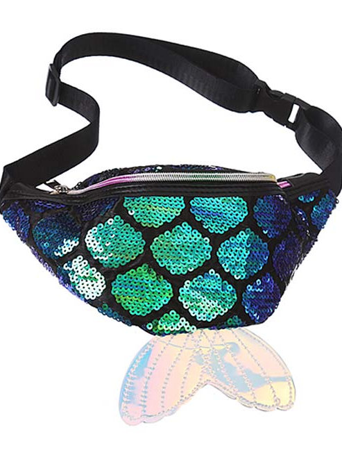 Zomigems - Green Mermaid Fanny Pack